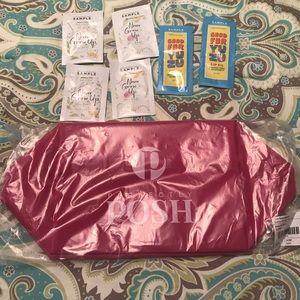 Posh bag with samples